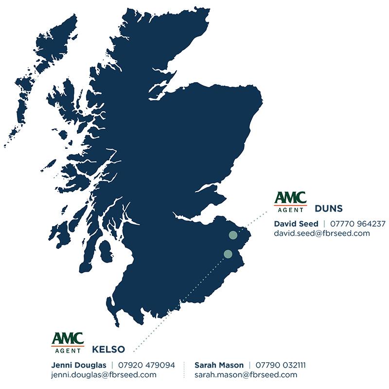 FBR Seed Scotland AMC Map