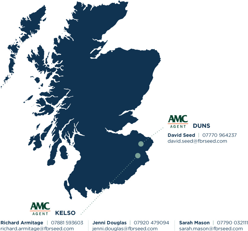 FBR Seed Scotland AMC Map